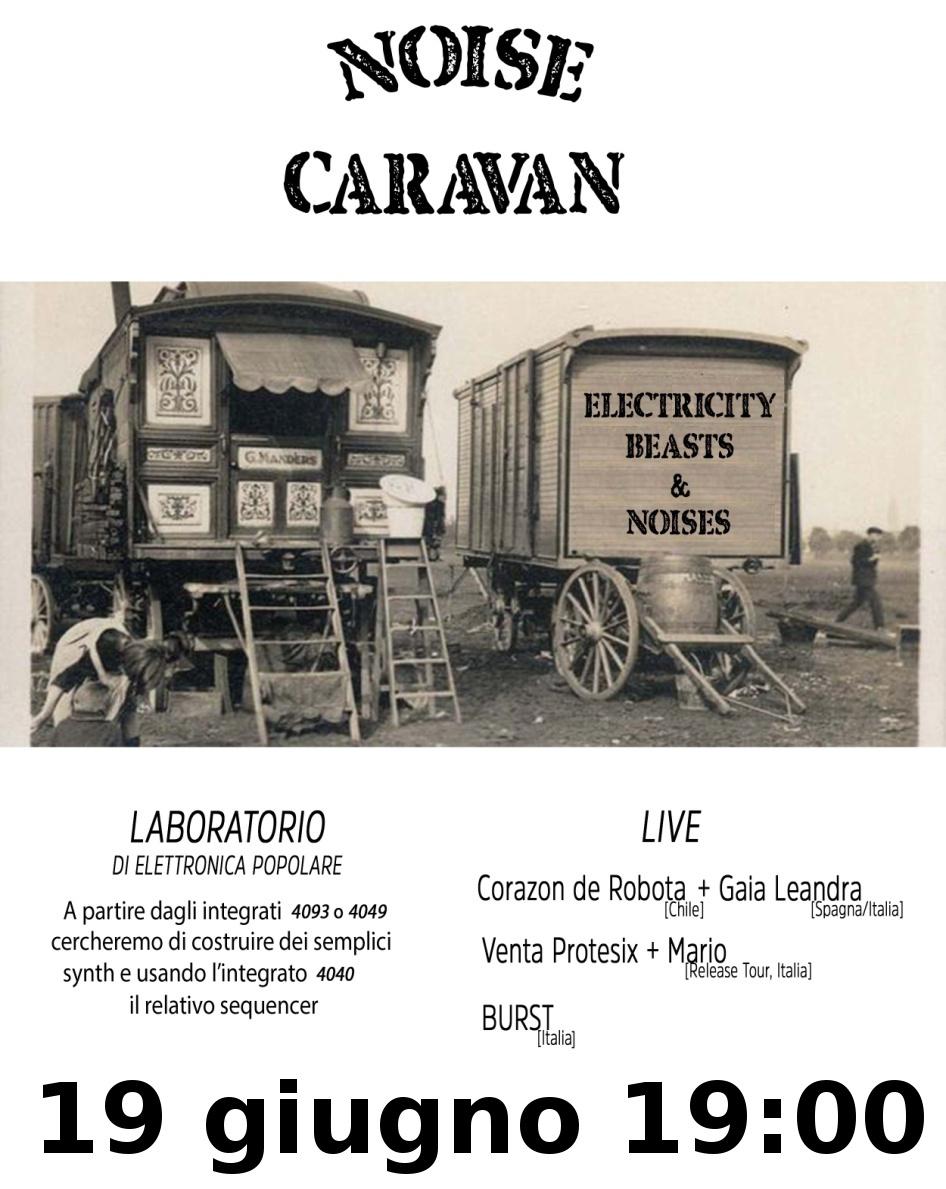 Noise Caravan  – 19 giugno lunedì – build a transfemminist noise!